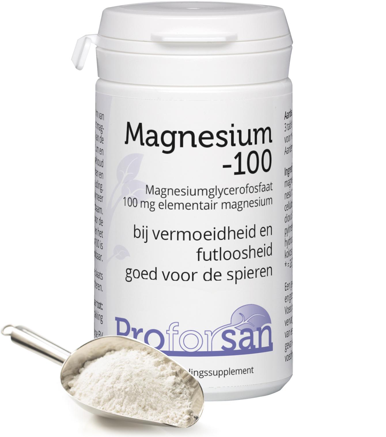 ProforSan Magnesium-100 - 60 tabletten