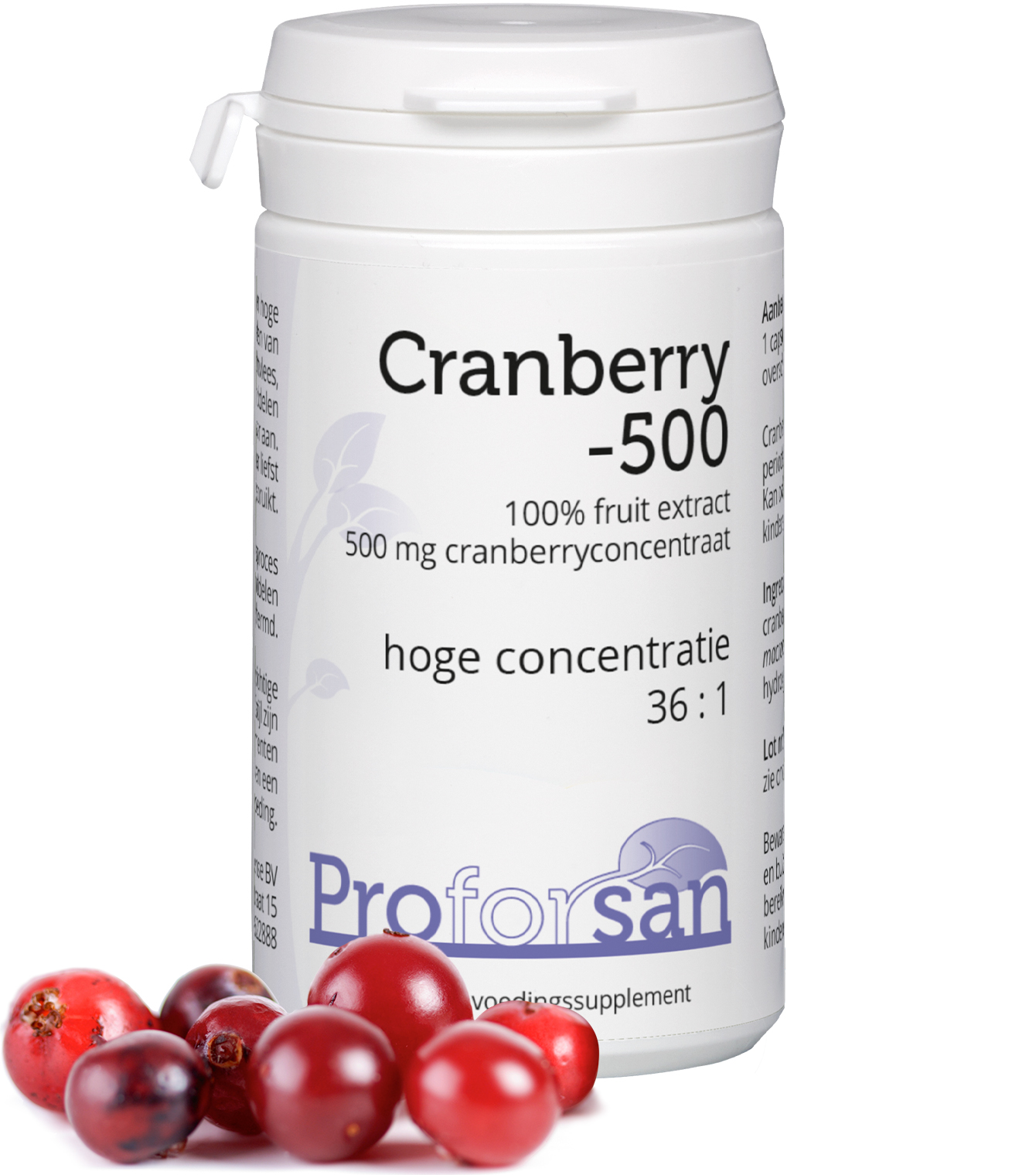 Proforsan Cranberry-500 60 V-capsules